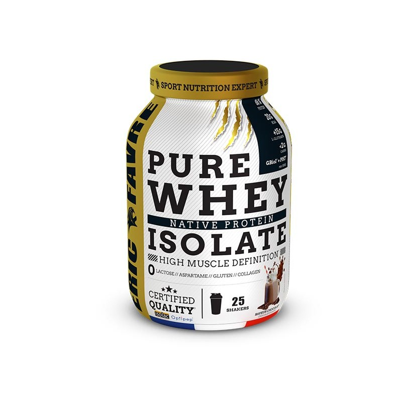 Whey isolate : la whey concentrée